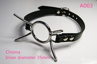 Wholesale Plug Yoke - Harness plug of Spidder High quality stainless steel BDSM harness mouth Choma mouth yoke Adult sex toys two different choma shape for choose