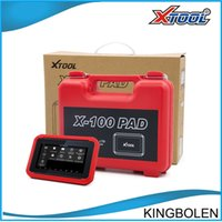 Wholesale Honda Ecu Programmer - Original XTOOL X100 PAD Same as X300 Plus Auto Key Programmer Update Online Odometer correction x-100 Pad pro with EEprom DHL free shipping