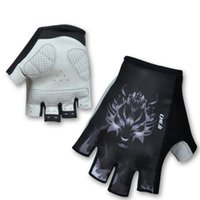 Unisex sports avatars - 7Colors Spiderman Ghost Wolf Devil Avatar Unisex Men and Women Half Finger Cycling Bike Bicycle Sports Racing Gloves S M L XL