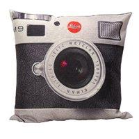 Wholesale Vintage Camera Cases - Wholesale-1 Pcs Square Vintage Linen Camera Pillow Case Throw Pillow cover 45x45cm