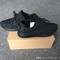 Wholesale Mens Boots Rock - Real 350 Boost Pirate Black Turtle Dove Grey TANS MOON ROCK Mens Boost 350 Kanye west With Box Men's