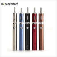 Wholesale Kit Kangertech Evod Vv - Genuine Kanger eVod Mega Starter Kit with vv evod 1900mAh battery 2.5ml evod mega clearomizer vs kangertech emow mega kit Subvod kit