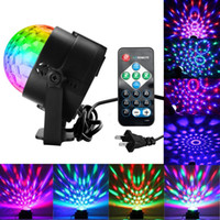 Sumger LED Sound attivato Party Lights con telecomando DJ Lighting, RBG Disco Ball, stroboscopio Par Par Light per Home Room Dance Partie