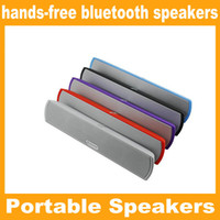 Wholesale Mobile Phone Horn - New b13 wireless hands-free bluetooth speakers TF card slot double horn double diaphragms bluetooth stereo mini Portable Speaker JF-A8
