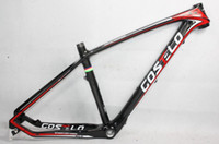 Wholesale Carbon Fiber Disc Frame - MTB toray carbon fiber frame 29er Disc Post Mount 3k glossy Finish Size 17 and 19' Carbon Frames