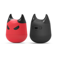 Wholesale wireless button camera usb - Emo Bluetooth Speakers Portables Mini Speakers Wireless Evil spirit Mini Bluetooth Speaker Car Handsfree Receive Call Camera MP3 Music