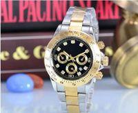 Wholesale Commercial Color - New fashion fashion men's luxury brand automatic watch commercial quartz clock submarine watches