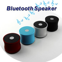 Wholesale cellphone hand - Bluetooth Mini Speaker EWA A109 Portable Speakers Wireless Mic Microphone Sound Box TF Card Slot MP3 Player Hands-free Cellphone Super Bass