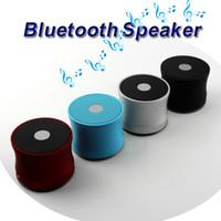 ingrosso mini microfono senza fili del bluetooth-Mini altoparlante Bluetooth EWA A109 Altoparlanti portatili Microfono senza fili Microfono Scatola audio Slot per schede TF Lettore MP3 Vivavoce Cellulare Super Bass