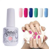 Wholesale gel polish soak - Choose Any 3 Colours Gel Polish Nail Art Soak Off Gelish UV LED Gel Nail Polish Foundation Top Coat 220 Colors