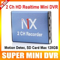 Wholesale Mini DVR recorder Support SD Card GB Real time fps ch dvr Board MPEG Video Compression Motion Detection vga