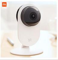 Wholesale 1pcs Ip - Original Xiaomi Smart CCTV Camera Small Ants Smart Webcam IP Wireless Wifi Camcorder Built-in Microphone Xiaomi yi Camera 1pcs