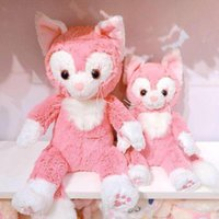 Wholesale Little Girls Baby Dolls - New Duffy Friend Pink Gelatoni Stuffed Plush Toy Doll Cute Little Painter Cat Baby Toys Best Birthday Gifts For Lovers Girls