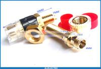 Wholesale Copper Probe - 20pcs Copper Binding Post for Speaker Amplifier Terminal Banana Plug Test Probes