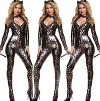 Wholesale Sexy Carnival Clothing - 2015 sale Sexy Cat Girl clothes Halloween Theme Costume easter style Costumes & Cosplay top quality Carnival women Apparel