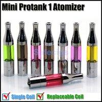 Wholesale Cartomizer For X9 - Mini protank atomizer mini X9 clearomizer cartomizer for ego electronic cigarette ego e cigarettes kits DHL Free shipping