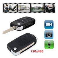 Wholesale Security Car Cameras Recorders - Mini Car KeyChain Camera Mini Car Key Cam Video Audio Recorder Mini DVR DVR Portable Security Surveillance Camcorders