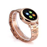 Wholesale Golden Fashion Watches For Men - New fashion Wearable Devices smart bluetooth watch H8 fits for men and women for iphone android phone high quality 010118