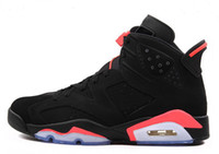Wholesale Sneaker Trainers - 2016 New Shoes, 2015 Basketball Shoes,Trainers Shoes Sneakers Boots,Infrared 6 Shoe,GS Valentine's Day Shoe,Black Infrared Shoes