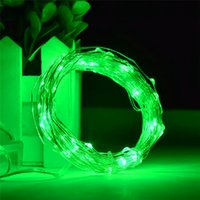 Wholesale Used White Christmas Tree - 2M 20LEDS holiday lighting 3 * AA Battery power operated led copper wire string lights Christmas Party Wedding New Year Use