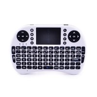 Venta al por mayor-Teclado inalámbrico Teclado Touch Pad teclado retroiluminado Keybord para Tablet Teclado Combos Remote Android PC mini Smart TV Box Computer