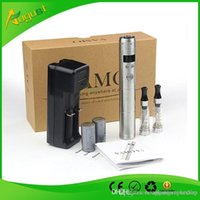 Ego Battery Lcd Wholesale Pas Cher-Vente en gros - New Vamo V5 Starter Kit ego Ecran LCD Batterie tension variable CE4 atomiseur Clearomizer électronique Cig Livraison gratuite MOQ 10 PC