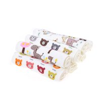 All'ingrosso Jetting Baby Feeding Baby Face Asciugamani per bambini Washcloth Washers Mano Cute Cartoon Wipe Wash Cloth Cotton