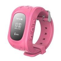 Wholesale kids watches online - 2017 Q50 Kids Smart Watch GPS LBS Double Location Safe Children Watch Activity Tracker SOS Card for Android and IOS