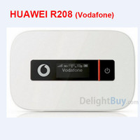Wholesale Huawei Pocket Mobile Router 3g - Huawei E587 (Unlocked vodafone mobile wi-fi R208) mobile WiFi hotspot HSDPA 100Mbps, 3G 4G pocket wifi Wireless Router broadband