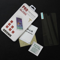 Wholesale Mirrored Screen Protector S4 - 2.5D Tempered Glass Iphone 6 Plus Screen Protector 0.33mm Explosion Proof Film Guard 5S Galaxy S6 S4 S5 Note 3 4 Retail package free DHL
