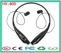 Wholesale Oy Headphones - neckband sport headsets hv hb 800 Stereo Portable In ear bluetooth Headphones&earphone hot selling headsets OY