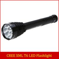 7 x Cree XML T6 LED Fire J18 8000 Lumen Taschenlampe 8000LM Flash Light + 4 x 26650 Batterien +