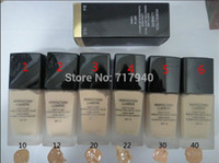 latas de maquillaje al por mayor-1 UNIDS 2015 Nuevo maquillaje Hot Brand Liquid Foundation SPF10 6Color puede elegir 30ML