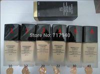 defecto del bloque de blanqueamiento al por mayor-1 UNIDS 2015 Nuevo maquillaje Hot Brand Liquid Foundation SPF10 6 Color puede elegir 30ML