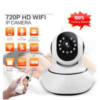 Wholesale Cut Monitor - LS-F2 HD 720P IP Camera P2P Pan Tilt Ir Cut Wifi Wireless Network IP Security Camera Baby Monitor Indoor Mini CCTV Camera ann