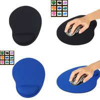 Wholesale Wrist Pad Gel - Wholesale-1pcs Mouse Pad Comfort Wrist Gel Thicken Support For Optical Trackball Mat Mice Pad Free shipping & Drop shipping 23*18 cm