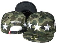 Wholesale Camo Snapbacks Free Shipping - camo Dnine D9 Reserve men Snapback Hats with embroidered stars strap snap back Snapbacks Hip-hop street sports 1pcs free shipping DDMY