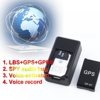 Wholesale 2016 New Mini Global Real Time GSM GPRS GPS Tracker SPY GF gf07 GSM GPRS GPS Tracking Device Track through both Smartphone Map location