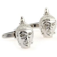 Wholesale White Metal Statue - French cufflinks cufflinks cufflinks stock alloy - silver cufflinks AE0497 metal craft statues