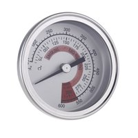 "Wholesale Grill Pits - Cooking Tools BBQ Smoker Pit Grill Thermometer Temp Gauge Bakeware 2.25"" Stainless Steel"