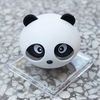 Wholesale Imports Perfumes - Car air fresher Panda cute shape with variety of fragrance for women brand perfume fantasy parking imported car