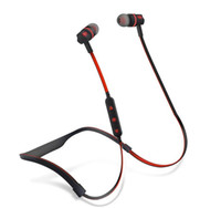 flex blackberry toptan satış-Flex 2 Kulaklık Koşu Gym Bas Ve Gürültü Azaltma Kulaklıklar Kablosuz Spor Su Geçirmez Bluetooth Kulaklık Mic spor kulaklık Ile