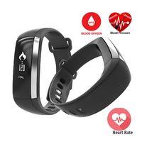 Wholesale Blood Pressure Pulse Oximeter - Original M2 Smart Wrist Band R5 PRO Heart rate Blood Pressure Oxygen Oximeter Sport Bracelet Watch intelligent For iOS Android
