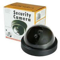 Wholesale Wholesale Dummy Security Cameras - Indoor Surveillance Dummy Detector Fake Dome Camera Security Cameras Simulated Surveillances Free Shippng