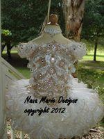 Wholesale Mini Flower Rhinestone - 2014 New Arrival Short Sleeve Bateau Juliet Little Girls Pageant Dresses Cupcake Dresses