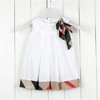 Wholesale Organza Dot Ribbon - Clearance 2013 new baby sleeveless dress girls dresses childen's clothing with 5 star positive feedback