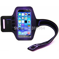 Wholesale Armband Galaxy Note Ii - Wholesale-Sports dot Armband For iphone 6 Plus 5.5inch,For Samsung Galaxy Note Note II Note III Note 4 with keyhole design