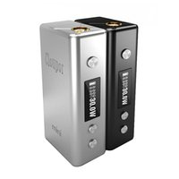 Wholesale Metal Back Magnets - Original Cloupor Mini 30w Mod Magnet Back Cover 18650 Battery Cloupor Mini 30w Black And Silver Fit To Atlantis RDA Atomizer tanks DHL Free