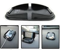 gps-pads großhandel-Auto-Armaturenbrett-klebrige Auflage-Matten-AntiNicht Beleg-Gadget-Handy GPS-Halter Inneneinzelteile Zusätze