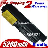 "Wholesale Lenovo T61 Widescreen - Free shipping- Laptop Battery 41U3196 41U3198 ASM 42T5265 For IBM lenovo ThinkPad R400 T400 R61 R61i T61 T61p T61u (14.1"" widescreen) 6 cell"
